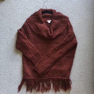 Cute fall sweater!